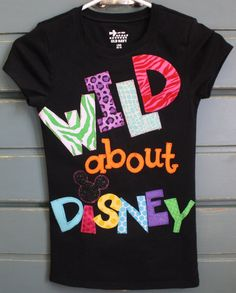 WILD about Disney Vacation Shirtavailable in by makmaydesigns, $30.00
