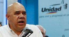 """El secretario ejecutivo de la Mesa de la Unidad Democrática, Jesús """"Chuo""""…"""