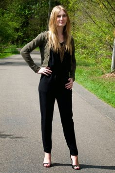 Polished Cats: Outfit: My Black Jumpsuit