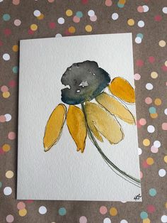 A personal favorite from my Etsy shop https://www.etsy.com/listing/592669640/watercolor-cards-hand-painted-flower