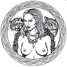Freyja by Michal Straka, aka Miky