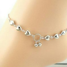 New Heart Cherry Ankle Bracelet Has A Lobster Clasp Jewelry Bracelets
