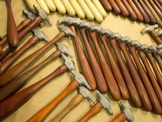Hammers galore as seen in the Marketplace at the Bead and Button Show. www.beadandbuttonshow.com