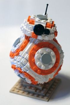 Now you can build your very own Lego version of the lovable new droid.