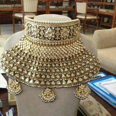 Indian Jewelry Earrings, Royal Jewelry, Gold Jewelry, Jewelery, Rajput Jewellery, Bridal Nose Ring, Jewelry Design, Designer Jewellery, Wedding Jewelry