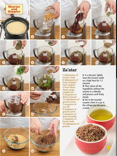 Homemade Za'atar seasoning