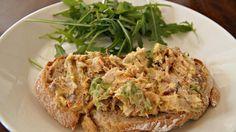 hoe maak je pittige makreelsalade