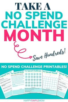 Money challenge 327425835413135447 - No spend challenge free printable pdf to help you have a successful no spend month! No spend challenge rules included. Tips and ideas included to save money. Source by Ways To Save Money, Money Saving Tips, Money Tips, Mo Money, Saving Ideas, Living On A Budget, Frugal Living, Simple Living, No Spend Challenge