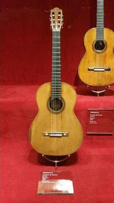 The Antonio Torres Master guitar (in Barcelona,Museum of music)