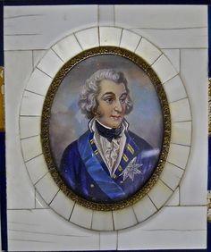 Lot 97: Antique Portrait on Ivory, Duke of Wellington - J. James Auctioneers and Appraisers | AuctionZip