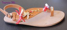 handmade leather sandals. find them on facebook