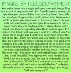 Imagine oh my gosh. I loved how it didn't give a name so you could insert your perfect option :)