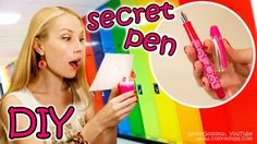 DIY Invisible Ink Pen For Secret Messages - Back To School DIY Supplies