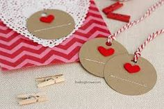 Image result for heart gift tags