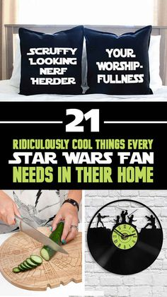 Gift ideas for Drew. 21 Ridiculously Cool Things Every Star Wars Fan Needs In Their Home