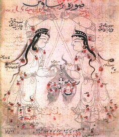 'Book of Fixed Stars' (Kitāb suwar al-kawākib al-ṯābita) by 'Abd al-Rahman ibn 'Umar al-Ṣūfī, dated 1260-80AD (British Library, London, manuscript Or.5323)