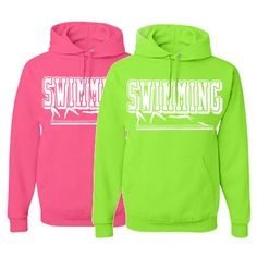 "Swimming Solid Sweatshirt - ""Swimming"" Logo"
