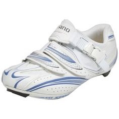 SALE - Shimano SH-WR61 Cycle Cleats Womens White Synthetic - Was $150.00 - SAVE $66.00. BUY Now - ONLY $83.99