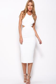 Look To The Stars Maxi Dress, White, $65 + Free express shipping http://www.hellomollyfashion.com/look-to-the-stars-maxi-dress-white.html