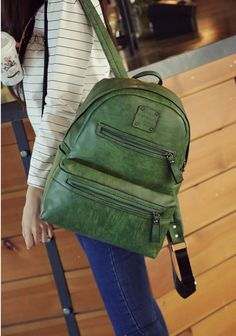 BA01061 Fashion college style backpack Korean style  for women