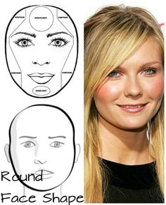 Perfert for round face contouring