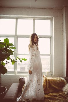 """""""Donovan"""" Bridal Robe ($350)   by: Daughters Of Simone - Click image to SHOP"""