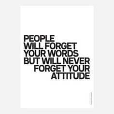 Forget your words