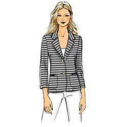 B5926 | Misses' Unlined Petite Jacket | Butterick Patterns
