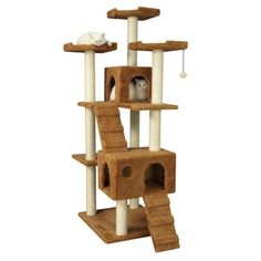 "Found it at Wayfair - 74"" Classic Cat Tree http://www.wayfair.com/daily-sales/p/Cat-Tree-Blowout-74%22-Classic-Cat-Tree~ATM1090~E21158.html?refid=SBP.rBAZEVT83q0HDl-YZzzPAgiFtzi0F0fngSGkyDrfOQA"