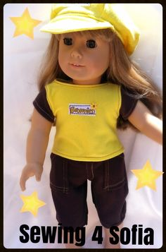 Brownies Summer Camp GIVEAWAY outfit for dolls !!!