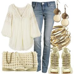 Neutrals...not the shoes but the rest oh yes
