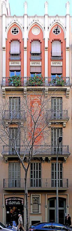 Casa Francesc Pastor i Pellicer  1893  Architect: Enric Sagnier i Villavecchia