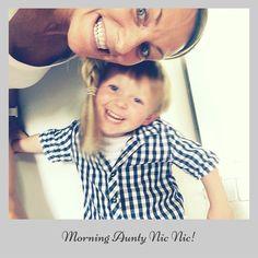 MORNING Aunty Nic Nic   It's #presentfriday     #love #nephew #friday