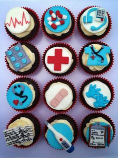 Nurse cupcakes by Cupcakes for You