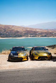 follow us on isntagram @rovelution for more 🔥 #350z #driftcar #aesthetic #lake #goldchrome #roveloil Gold Chrome, Drifting Cars, Photo And Video, Videos, Instagram