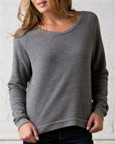 New-- Alternative - Ladies' Eco-Fleece Dash Pullover - 9597
