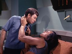 "Space Seed | ""Well, either choke me or cut my throat, make up your mind!"""