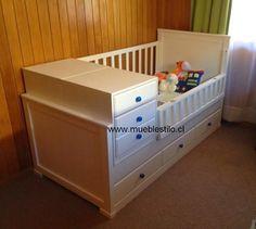 Cama cuna convertible, muebles infantiles