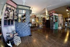 Diagon Alley from a Harry Potter Birthday Party on Kara's Party Ideas | KarasPartyIdeas.com (15)
