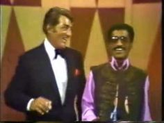 Dean and Sammy Davis Jr. doing their schtick together - a medley of songs - super nice and great memories - web source MR