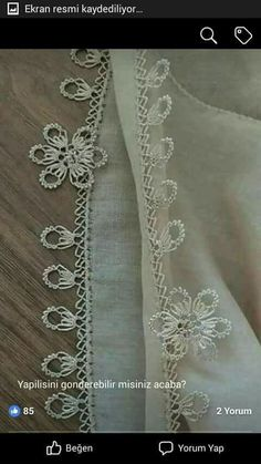 This Pin was discovered by HUZ Needle Lace, Bobbin Lace, Yarn Crafts, Diy And Crafts, Teneriffe, Crochet Borders, Tatting, Embroidery, Sewing
