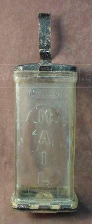 shopgoodwill.com: VTG Collins Glass Visible Mail Box Circa 1930's