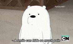 Emo Wallpaper, Cute Panda Wallpaper, Cartoon Wallpaper, We Bare Bears Wallpapers, Panda Wallpapers, Cute Wallpapers, Ice Bear We Bare Bears, We Bear, Funny Cartoon Gifs