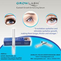 It revitalizes #eyelashes and stimulate eyelashes #growth, making them #longer, #thicker and #stronger.