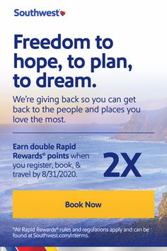 Can you book rental car with southwest points