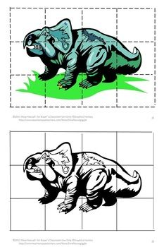 Dinosaur Cut and Pasted Puzzles-Pre-k, K, Special Education, Autism-Puzzles are not only fun for children they have a lot of benefits. Some of those benefits are developing problem solving skills, fine motor skills, and hand eye coordination. Students will enjoy these Dinosaur inspired puzzles. Students cut out puzzle pieces and then paste onto the corresponding page. Or, if you prefer, laminate them and use them as a regular puzzle that can be worked again and again.