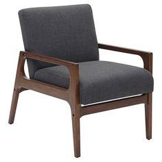 Windson Wood Arm Chair - Threshold™ - GREY INK