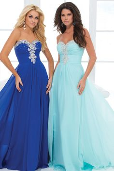 New Arrival Prom Dresses Sweetheart Beaded Ruffled Floor Length for sale, buy affordable prom evening party gowns at best online dress store. For any size, we can customize for you.