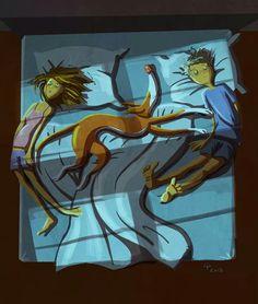Sleeping positiob Podenco ;)