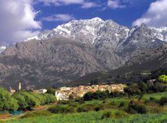 Calenzana-Village, Corsica